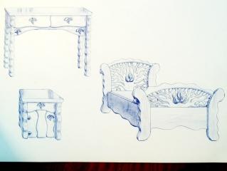Эскиз мебели