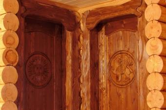 Двери резные межкомнатные (9)