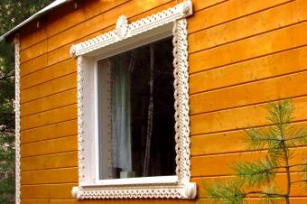 Резные наличники - окно
